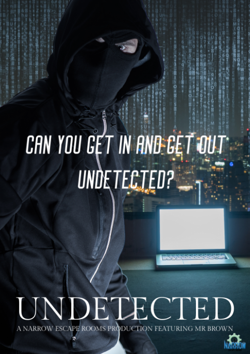 Escape Room Undetected Poster